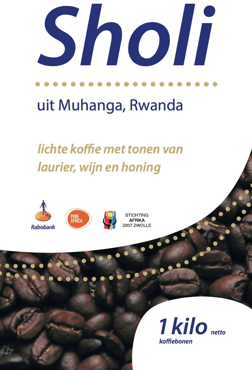 Koop koffiebonen geimporteerd door Rabobank en Pure Africa uit Rwanda