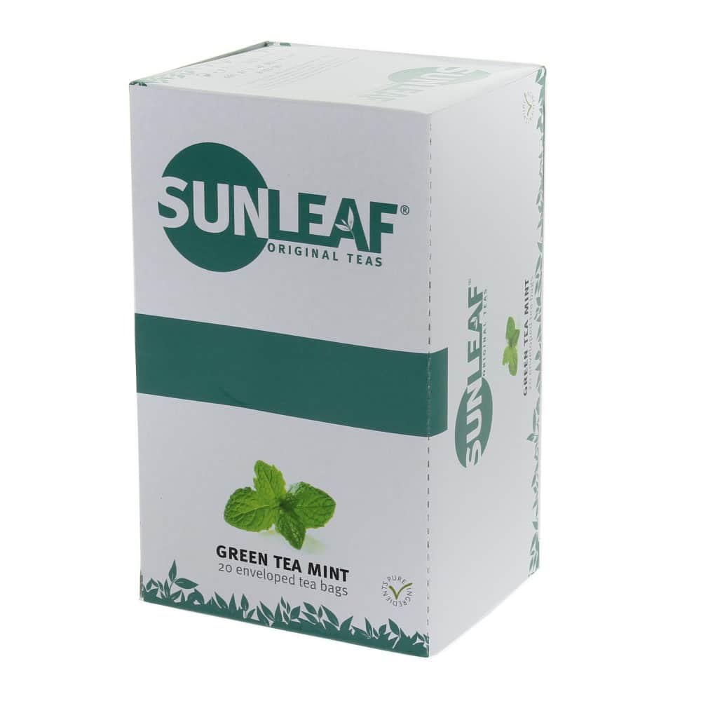 Sunleaf Green Tea Mint - Pure Africa | a social enterprise