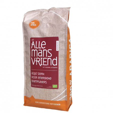 Biologische Sidamo koffie is onze Biologische Allemansvriend