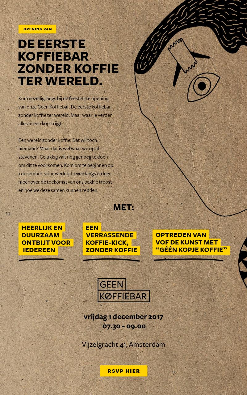 Ga langs bij Geen Koffiebar in Amsterdam