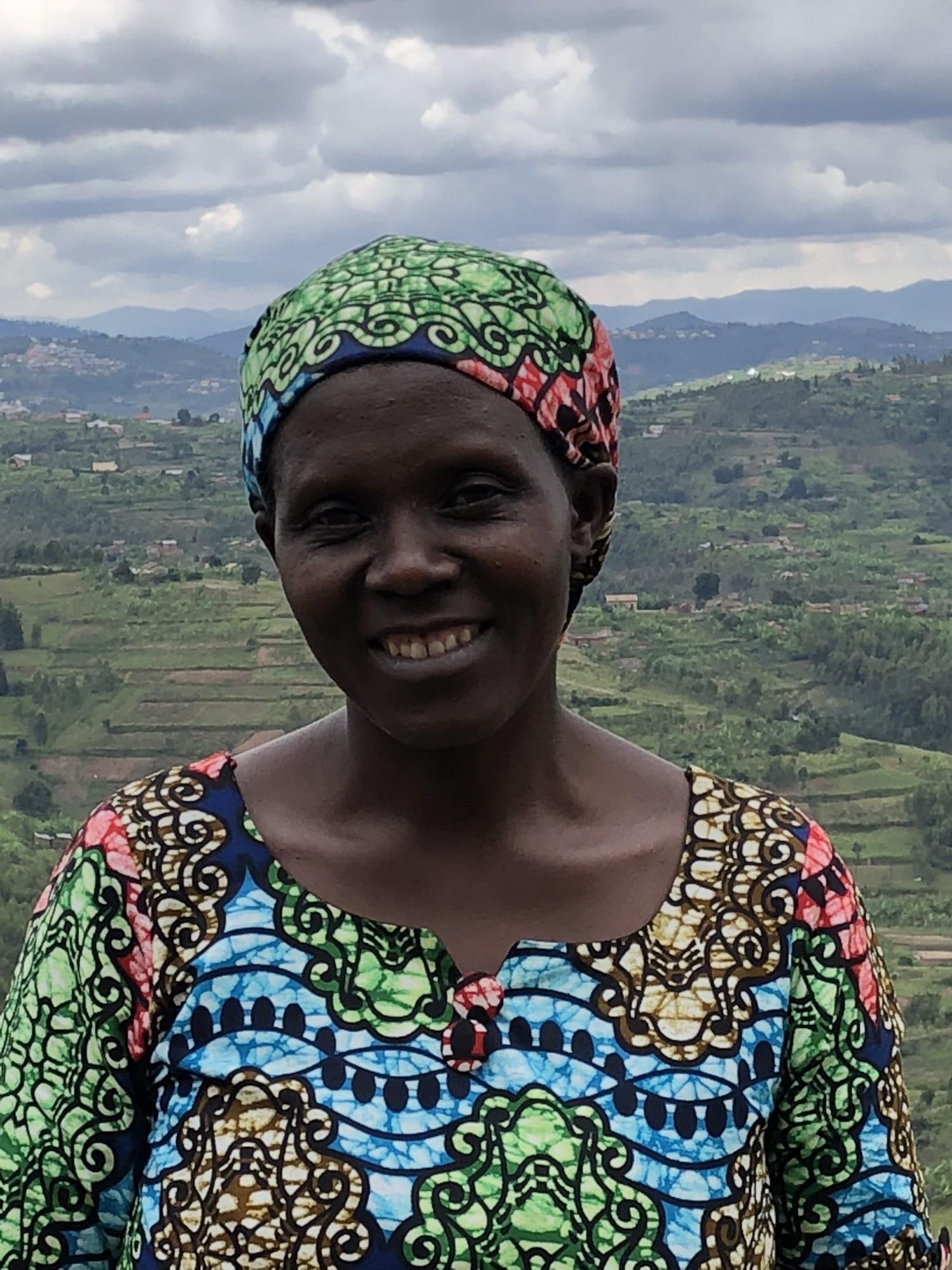 Josephine is boerin in Afrika en heeft een Pure Africa microkrediet